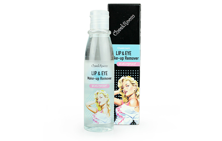 CheekRoom Lip & Eye Make Up Remover  