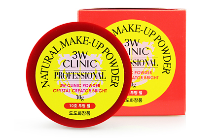 3W Clinic Natural Make-Up Powder 30 g.    