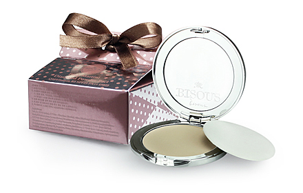 Bisous Bisous Pink Martini Diamond Powder Pact Q10 n Vitamin B3 SPF25 PA++ 