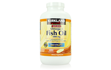 Kirkland Omega 3 Fish oil 1000mg  Omega-3 Fatty Acids 