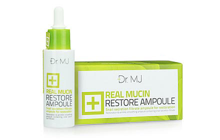 Dr.MJ Real Mucin Restore Ampoule   