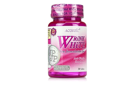 Acorbic Wrink White Collagen  2000 mg.