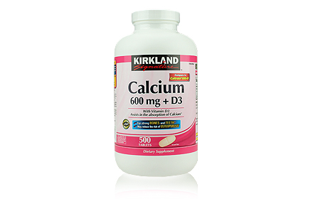 Kirkland Calcium 600mg+D3   
