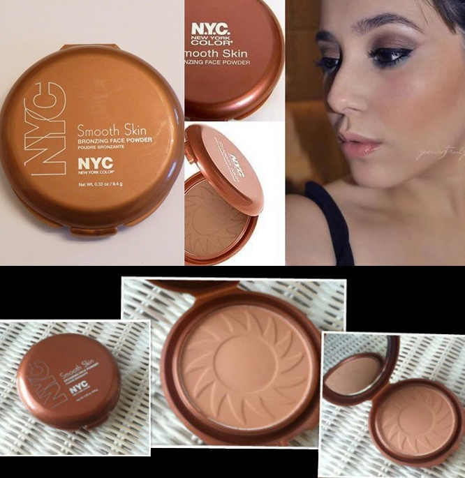 NYC Smooth Skin Bronzing Face Powder #720A Sunny_1