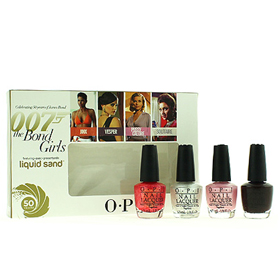 O.P.I 007 The Bond Girls Mini Set 4ชิ้น