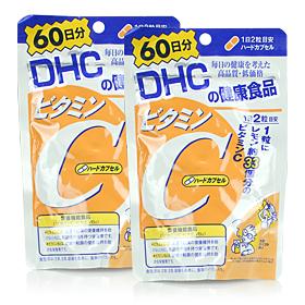 แพ็คคู่ DHC Vitamin C 60 วัน ยอดขายดีอันดับหนึ่งในญี่ปุ่น ช่วยลดความหมองคล้ำบนใบหน้า เพิ่มความชุ่มชื่นแก่ผิว