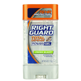 RIGHT GUARD Total Defense 5 Power Gel 113g