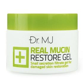 Dr.MJ Real Mucin Restore Gel เจลบำรุงผิวสกัดเมือกหอยทากอันโด่งดังจากเกาหลี ลดเลือนริ้วรอยด่างดำ รอยแดงจากสิว