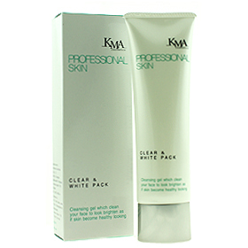 KMA Clear & White Pack 120g