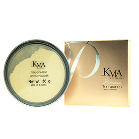 KMA Transparent Loose Powder  30g #Y1 Yellow