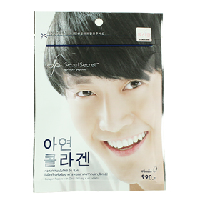 Seoul Secret Collagen Peptide for Men 1000mg คอลลาเจนสำหรับผู้ชาย ช่วยกระตุ้นการเสริมสร้างฮอร์โมนเพศชาย