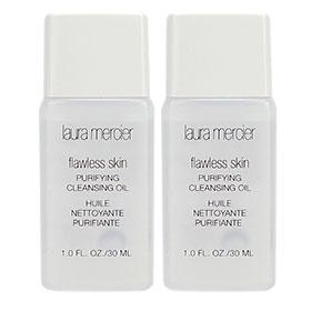 แพ็คคู่ Laura Mercier Flawless Skin Purifying Cleansing Oil 30ml