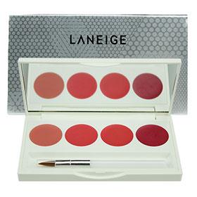 Laneige Silk Intense Lipstick 4 Color Lip Palette