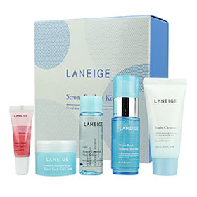 Laneige Strong Product Kit 5 Items เซ็ตดูแลผิวหน้า เติมความชุ่มชื่นให้ผิวดูอิ่มน้ำ เผยผิวสวยใสอย่างเป็นธรรมชาติยาวนานตลอดวัน