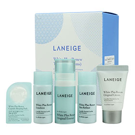 Laneige White Plus Renew Trial Kit (5 Items) เซ็ตผลิตภัณฑ์บำรุงผิวหน้า ให้ผิวเนียนนุ่มชุ่มชื่น พร้อมปรับผิวให้สว่างกระจ่างใส