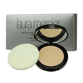 Laura Mercier Smooth Finish Foundation Powder SPF20 #04 แป้งผสมรองพื้นเนื้อเนียนละเอียด กลมกลืนไปกับผิวได้อย่างเป็นธรรมชาติ