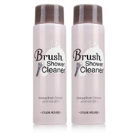 แพ็คคู่ Etude House Brush Shower Cleaner ผลิตภัณฑ์ทำความสะอาดและฆ่าเชื้อ ช่วยชำระสิ่งสกปรกตกค้างจากเครื่องสำอางระหว่างวัน