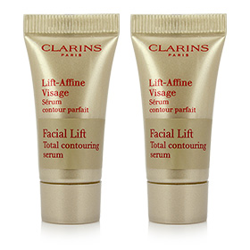 แพ็คคู่ Clarins Lift-Affine Visage Facial Lift Total Contouring Serum (5ml×2)