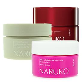 Set Naruko Night Gelly 3Items(15gx3) เซ็ตผลิตภัณฑ์บำรุงผิวยามค่ำคืน เพื่อให้ผิวชุ่มชื่น มีชีวิตชีวา
