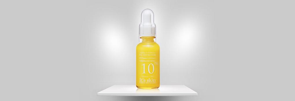It's skin Power 10 Formula VC Effector with Vitamin C สุดยอดเซรั่มเนื้อบางเบา เพื่อผิวขาวกระจ่างใส ไร้จุดด่างดำ