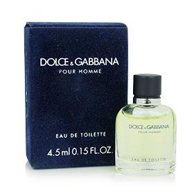 Dolce & Gabbana Pour Homme Perfume for Men EDT 4.5ml กลิ่นหอมสุดคลาสสิค ของชายหนุ่มที่เปี่ยมด้วยพลังของความมุ่งมั่น