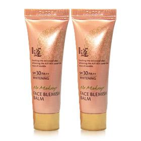 แพ็คคู่ Welcos No Makeup Face Blemish Balm ปรับผิวหน้าขาวใส ควบคุมความมัน ลบรอยสิว เนียนใสทั้งวัน สามารถปกป้องผิวจากแสงแดดได้