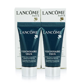 แพ็คคู่ Lancome Visionnaire Yeux Advanced Eye Contour Perfecting Corrector (5ml x2)