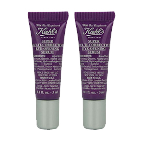 แพ็คคู่ Kiehl's Super Multi-Corrective Eye-Opening Serum (3ml x2)