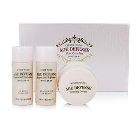 Etude House Age Defense Skin Care Kit (3 Items) เซ็ตบำรุงผิวสวยให้คงความอ่อนเยาว์ พร้อมมอบความชุ่มชื่นให้ผิวดูเปล่งประกาย