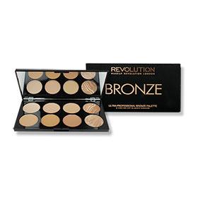 Makeup Revolution Ultra Professional Bronze Palette #All About Bronze 13g