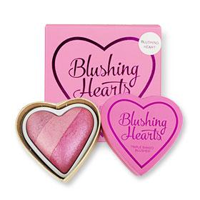 Makeup Revolution Blushing Hearts Triple Baked Blusher #Blushing Heart 10g