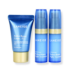 Laneige Perfect Renew Night Treatment Set (3 Items)