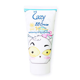 Lazy BB Cream Whitening & Moisturing SPF30/PA+++ 50ml ใหม่! บีบีครีม สูตรรวม 3 ประสิทธิภาพใน 1 เดียว