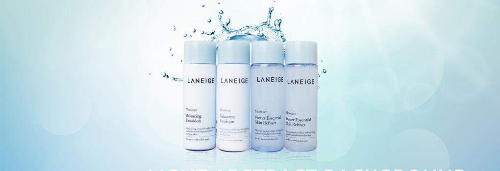 แพ็คคู่ Laneige Power Essential Skin Refiner Moisture & Balancing Emulsion Moisture(25ml×4) คู่ผสานประสิทธิภาพในการเก็บกัก รักษา