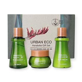 The Saem Urban ECO Harakeke Gift Set 3 Items ชุดบำรุงใช้น้ำสกัดจากฮาราเกะเกะพืชจากนิวซีแลนด์เป็นส่วนผสมจากธรรมชาติ100%