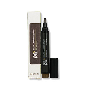 The Saem Eco Soul Henna Marker Brow #01 Natural Brown
