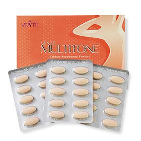 Vente Multitone Dietary Supplement Product (30 Capsules)