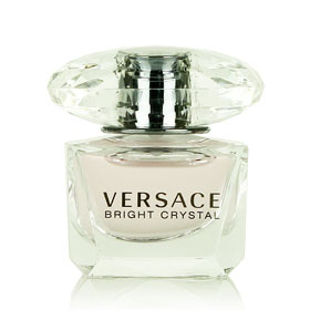 Versace Bright Crystal Eau de Toilette 5ml. กลิ่นสดชื่นบางเบา แฝงไว้ด้วยความมั่นใจ เซ็กซี่ หรูหรา หอมสดใสสว่างไสวราวกับคริสตัล