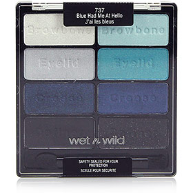 Wet n Wild Coloricon Eyeshadow Collection #Blue Had Me At Hello-737