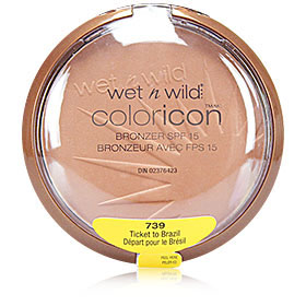Wet n Wild Coloricon Bronzer SPF15 #739 Ticket to Brazil