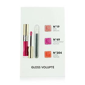 YSL Gloss Volupte Lipstick Mini Brush Set (3 Colors)