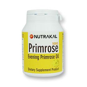 Nutrakal Primrose 1000 Evening Primrose Oil (30 Softgels)
