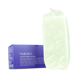 Naruko Facial SPA Massage Cotton Pad 60 Pcs