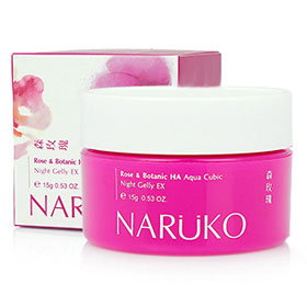 Naruko Rose&Botanic HA Aqua Cubic Night Gelly EX 15g