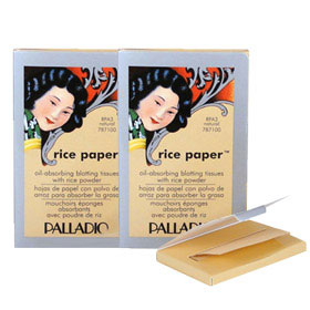 Palladio Rice Paper #Natural 40 Tissues 2pcs (แพ็ค 2)