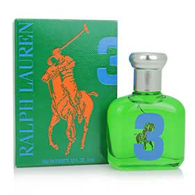 Ralph Lauren Big Pony 3 For Men EDT 15ml กลิ่นเบาสบายจากธรรมชาติของมิ้นต์และขิง เพื่อหนุ่มนักผจญภัยคนเก่ง