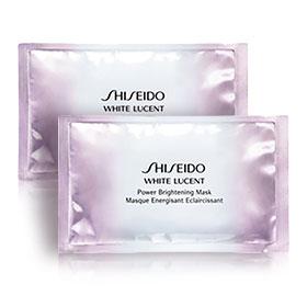 แพ็คคู่ Shiseido White Lucent Power Brightening Mask (2pcs)