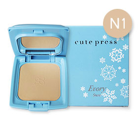 Cute Press Evory Snow Whitening & Oil Control Foundation Powder SPF 30 PA++  # N1 (12g)