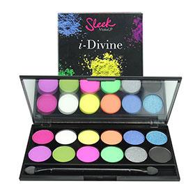 Sleek i-Divine Mineral Based Eye Shadow Palette #Acid