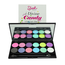 Sleek i-Divine Mineral Based Eye Shadow Palette Limited Edition #Candy-871